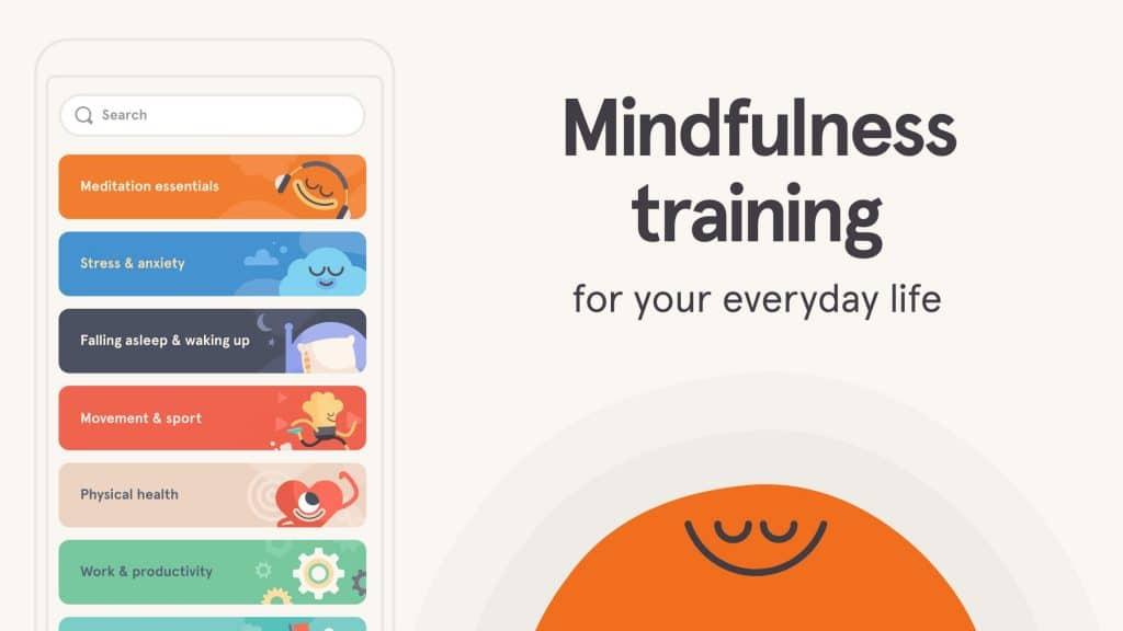 Screenshot Headspace